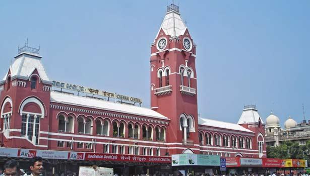 சென்னை எம்ஜிஆர் சென்டிரல் ரெயில் நிலையம்