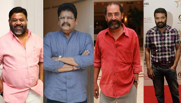 பி.வாசு, கே.எஸ்.ரவிக்குமார், எஸ்.பி.ஜனநாதன், அமீர்
