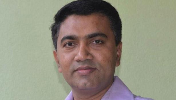 கோவா முதல்வர் பிரமோத் சாவந்த்