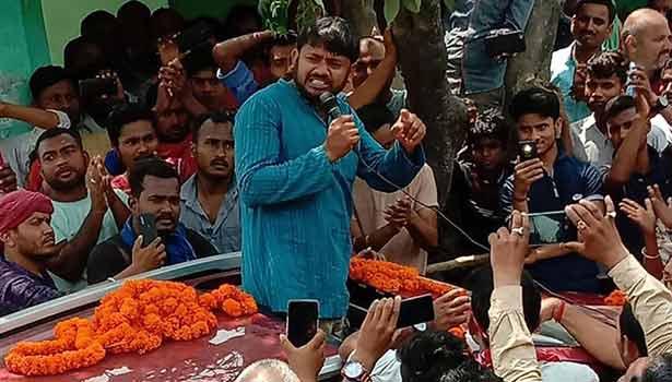 தேர்தல் பிரசாரத்தில் கண்ணையா குமார்