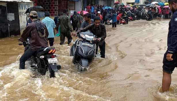 மகாராஷ்ராவில் ஏற்பட்டுள்ள வெள்ளம்