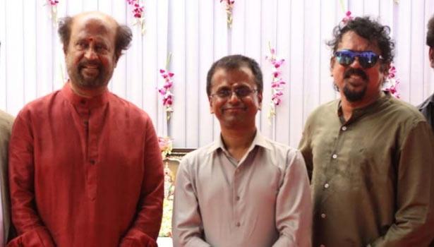 ரஜினி, ஏ.ஆர்.முருகதாஸ், சந்தோஷ் சிவன்