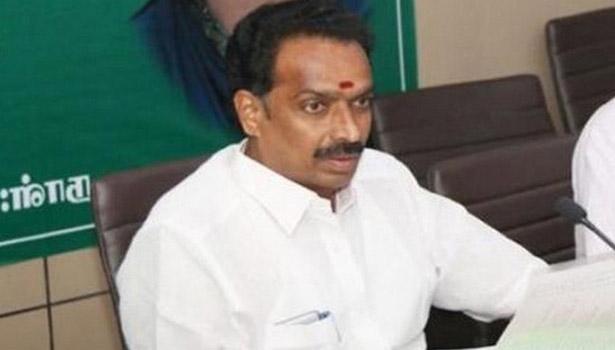 அமைச்சர் எம்ஆர் விஜயபாஸ்கர்