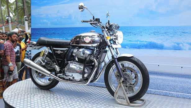 ராயல் என்ஃபீல்டு இன்டர்செப்டார் 650
