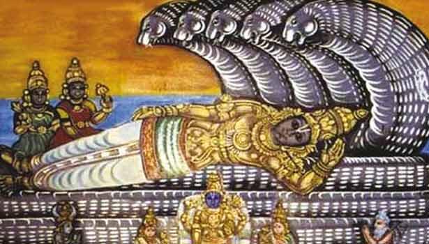 ஆதிகேசவபெருமாள் சிலை