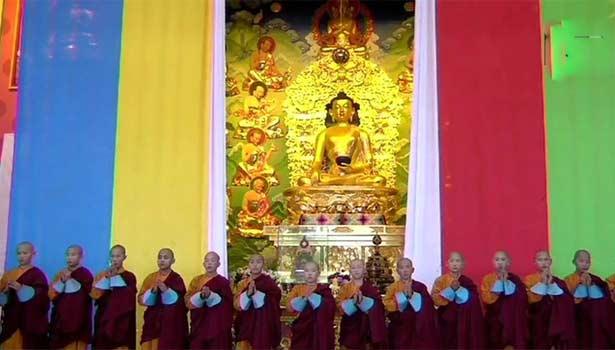 தங்க புத்தர் சிலை