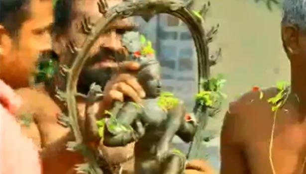 கல்லிடைக்குறிச்சி கோவிலுக்குகொண்டு வரப்பட்ட நடராஜர் சிலை