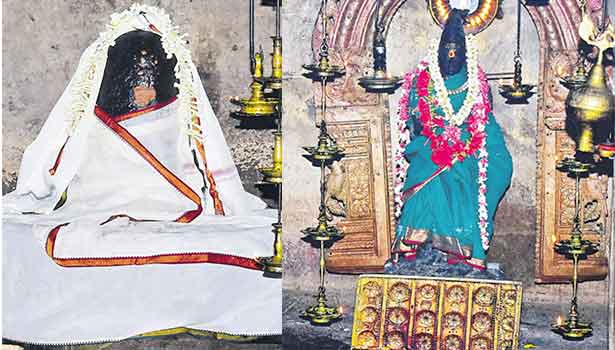 அக்னீஸ்வரர், கருந்தாள்குழலி