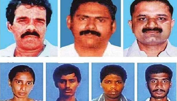 ராஜீவ் காந்தி கொலை வழக்கில் தண்டனை அனுபவித்து வரும் 7 தமிழர்கள்