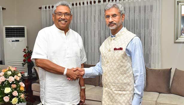 கோத்தபய ராஜபக்சேவுடன் ஜெய்சங்கர்