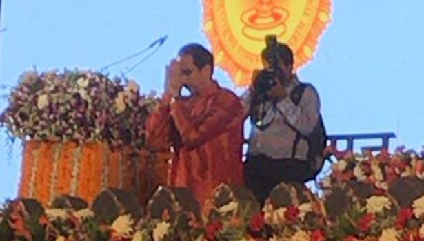 மகாராஷ்டிரா முதல்மந்திரி உத்தவ் தாக்கரே