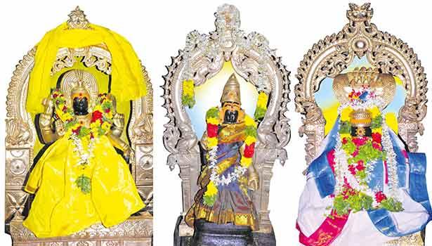 தட்சிணாமூர்த்தி, சிவகாமி அம்மன், வியாக்ரபாதீஸ்வரர்