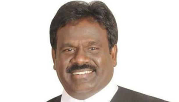 பா.ம.க. செய்தி தொடர்பாளர் வக்கீல் பாலு