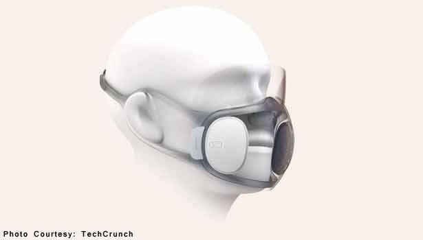 கொரோனாவை கொன்றுகுவிக்க இது போதும் - புதுவித மாஸ்க் உருவாக்கும் ஹூவாமி 202005191209349885_1_Aeri-Mask-prototype._L_styvpf