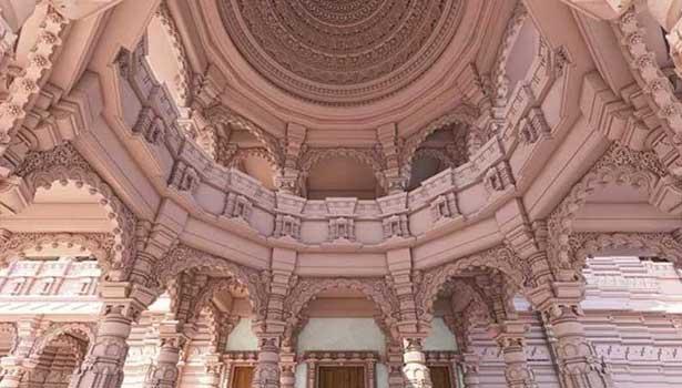 ராமர் கோவிலின் மாதிரி புகைப்படம்