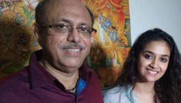 கீர்த்தி சுரேஷ் தந்தை