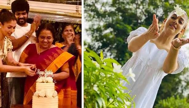 நயன்தாரா அம்மா பிறந்தநாள்