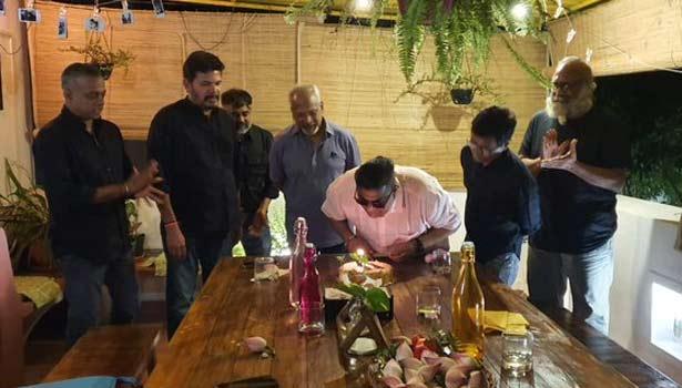 மிஷ்கின் பிறந்தநாள் கொண்டாட்டத்தில் கலந்துகொண்ட முன்னணி இயக்குனர்கள்