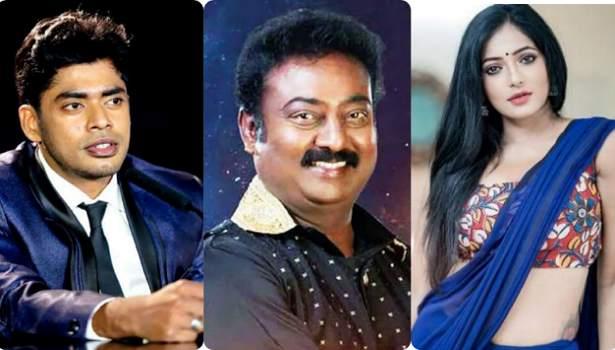 சாண்டி - சரவணன் - ரேஷ்மா
