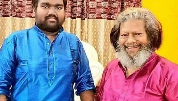 மகனுடன் ராஜ்கிரண்