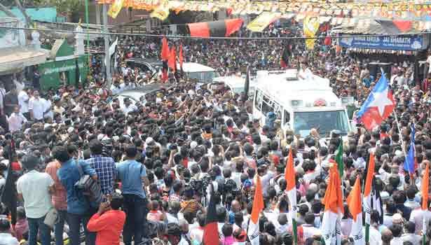 தேர்தல் பிரசாரத்தில் ஈடுபட்ட மு.க.ஸ்டாலின்