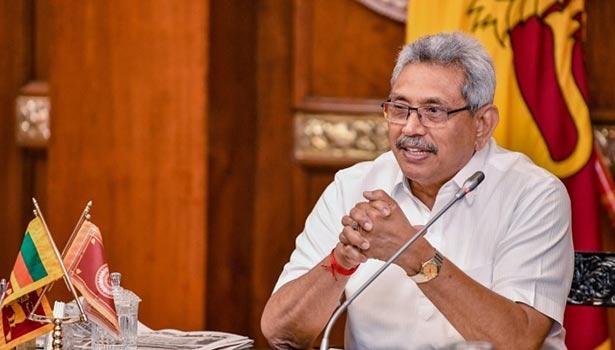 அதிபர் கோத்தபய ராஜபக்சே