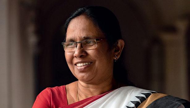 சுகாதாரத்துறை அமைச்சர் ஷைலஜா