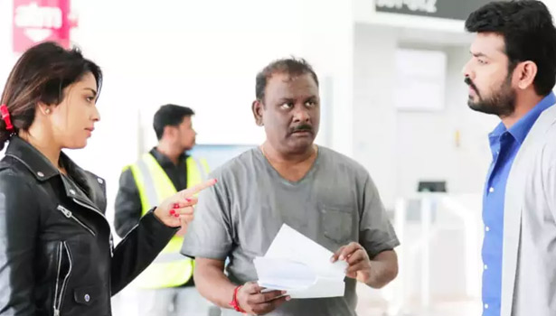 நடிகை ஸ்ரேயா, இயக்குனர் மாதேஷ், நடிகர் விமல்