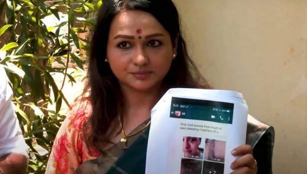 நடிகை சாந்தினி அளித்த புகார் அடிப்படையில் முன்னாள் அமைச்சர் மணிகண்டன் மீது  வழக்குப்பதிவு || Actress shantini complaint police register case again  former minister manikandan