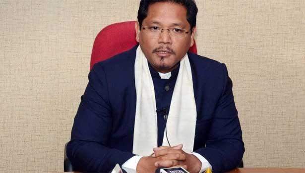 மேகாலயா முதல்வர் கான்ராட் சங்மா