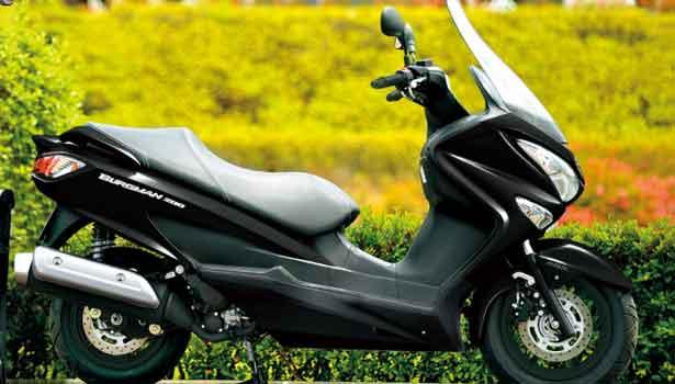 சுசுகி பர்க்மேன் ஸ்டிரீட் 200