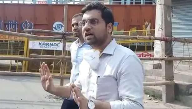 அதிகாரி ஆயுஷ் சின்கா