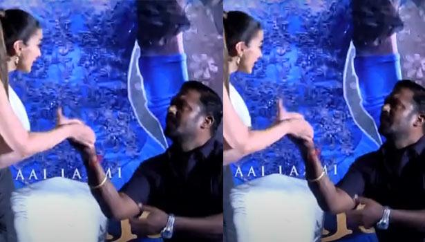 ராய் லட்சுமி - ரோபோ சங்கர்