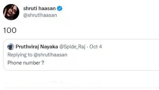 ஸ்ருதி ஹாசன்