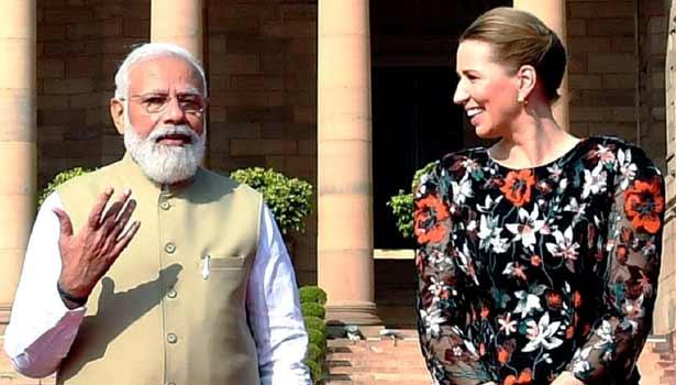 இந்தியா பிரதமர் - டென்மார்க் பிரதமர்