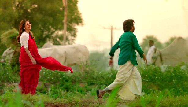 ரஜினி-நயன்தாரா பாடல் காட்சி